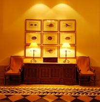 50種類以上の美術品で彩られている館内
