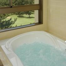 *デラックスツイン/お風呂はジャグジーです。