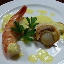 【魚料理(夕食)】