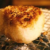 ☆料理_夕食_焼きおにぎり