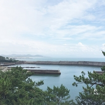 ホテルからの風景(東シナ海)