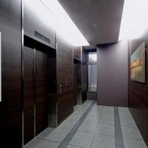 一階EVホール