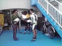 サイクリングツアー晴レ屋からアロハさん