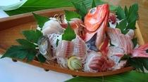 舟盛り金目鯛の例