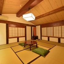 *弐の蔵/落ち着いた「和」の空間で、思い思いにお過ごしください。