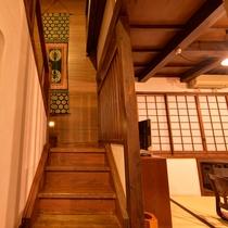 *壱の蔵/階段を上がった2階にも和室のお部屋がございます。
