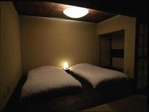 和洋室ベッドルーム