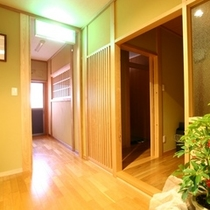 2階 洗面所 入り口
