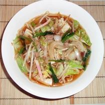 *【夕食一例/おまかせ】肉野菜ラーメン