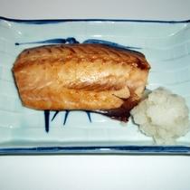 *【夕食一例】ほっけ焼き