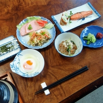 *【朝食全体例】からだに優しい和朝食をご用意いたします。
