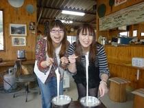 モッツァレラチーズ作り体験