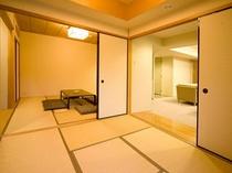 スイートルーム和室