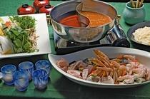 宴会料理(二味鍋:一例です)