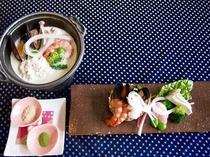 鱧と魚介の豆乳フリカッセ(イメージです)