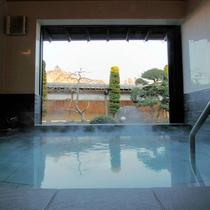 【貸切風呂】庭園風呂(別邸) ※宿泊のお客様は無料でご利用いただけます。