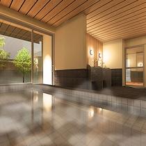 【貸切風呂】ゆず庭園風呂(母屋) ※宿泊のお客様は無料でご利用いただけます。