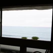 *ロビーより眺める太平洋