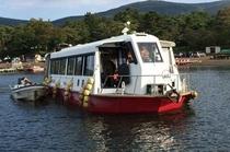 ワカサギ釣りはドーム船が人気!