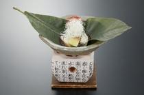 牡蠣朴葉焼