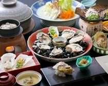 牡蠣づくし会席 料理イメージ(牡蠣鍋は2人前)2016年