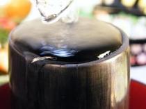 竹炭のコップ