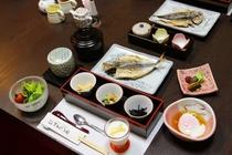 桜田温泉の朝定食