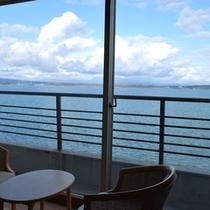 白鷺亭からの海の眺め