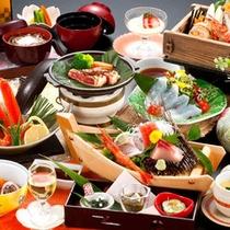 お部屋食、お料理の一例