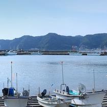 活気にあふれる内浦湾に面した眺望が自慢です。