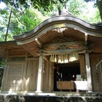 【周辺観光】くしふる神社/天孫降臨の地として伝えられスピリチュアルスポットとして人気