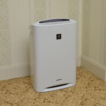 加湿機能付空気清浄機を、全客室に完備!!