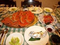 蟹と甘えび