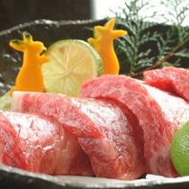 但馬牛ステーキの一例