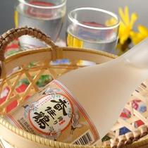 地元の銘酒「香住鶴(かすみづる)」もお楽しみください。