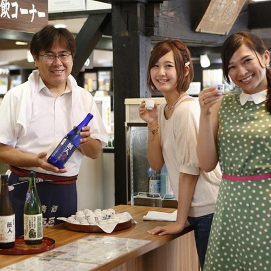 諏訪五蔵 酒蔵めぐりプランイメージ 写真提供:楽天トラベル