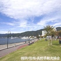 ■諏訪湖の風景