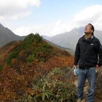 谷川岳天神平山頂付近