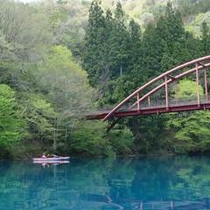 ■四万湖カヌー1