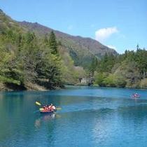 ■四万湖カヌー2