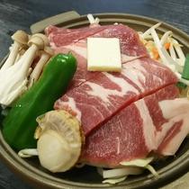 【上州麦豚の陶板焼き】群馬の麦で育った質の良いお肉です♪