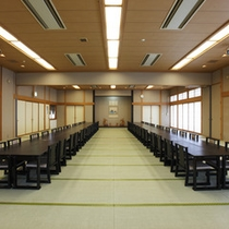 *【館内/大広間】「水の間」と「光の間」があり、宴会など多目的に使用されます。