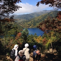 ■【秋】紅葉(大沼池)トレッキングをお楽しみください。