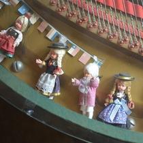 ■かわいい音楽人形はこんなところにも。