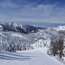 ■滑りながらの景色も最高♪