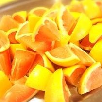 ■フルーツもたくさん食べられますよ♪(夕食バイキングメニュー一例)