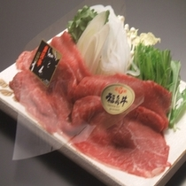 福島牛・米沢牛食べ比べしゃぶしゃぶ
