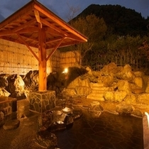 露天風呂(夜景)