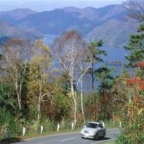 磐梯山ゴールドライン(秋)