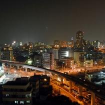 *ホテル周辺の夜景